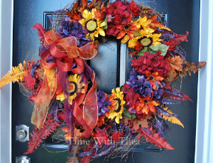 Willow & Grapevine Fall Wreath