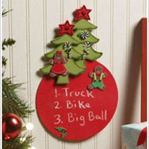 Gingerbread Christmas Wish List