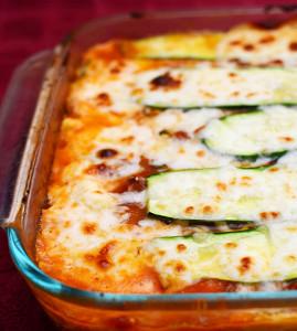 No Pasta Zucchini Lasagna