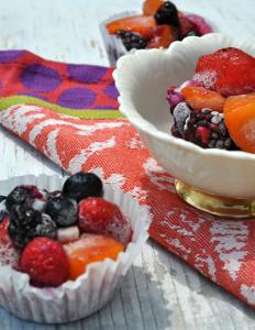 Individual Frozen Fruit Salads