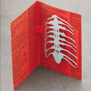 Rib Cage Pop-Up Card