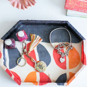 Stylish Scarf DIY Jewelry Holder