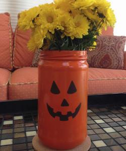 Precious Pumpkin Jar Vase