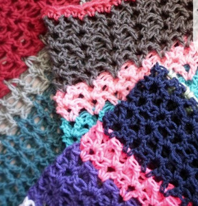 Crochet Stitches V-St : How to Crochet V-Stitch AllFreeCrochetAfghanPatterns.com