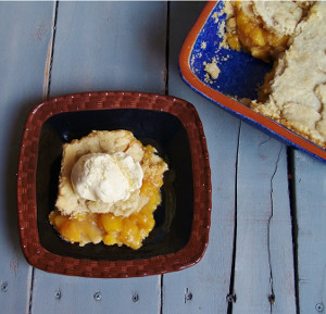 Nana's Old-Fashioned Peach Cobbler