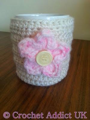 Pink Daisy Mug Cozy