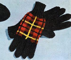 Wallace Tartan Gloves