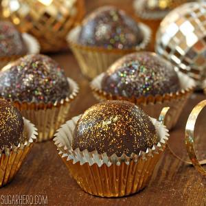 Disco Ball Chocolate Truffle Recipe