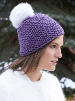 Free Knitting Pattern Garter Stitch Hat : Beginners Garter Stitch Hat