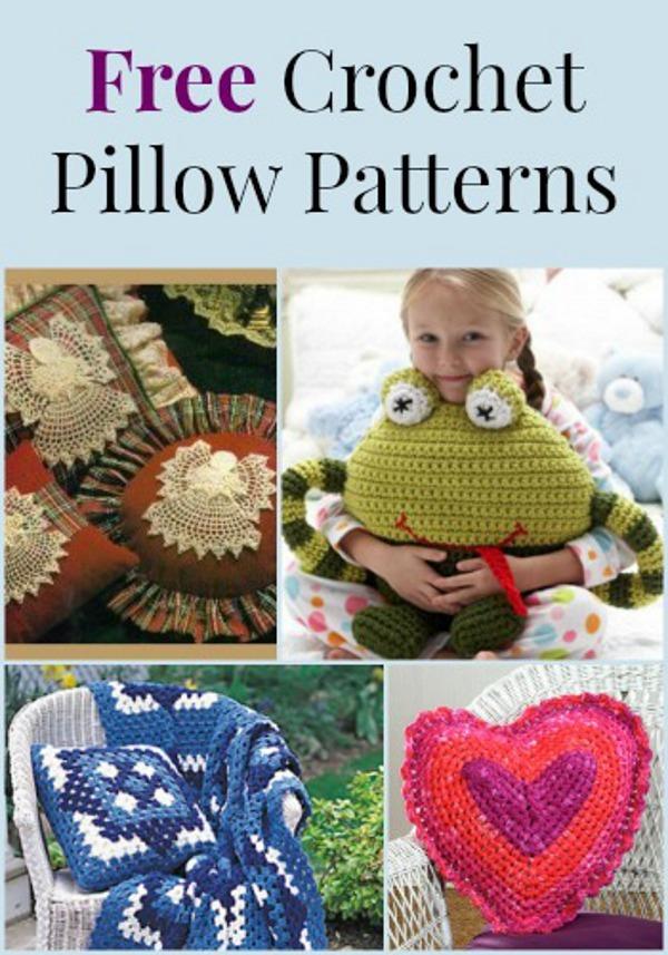 Free Crochet Pillow Patterns For Beginners : 10 Free Crochet Pillow Patterns FaveCrafts.com