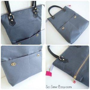 Zip Me Up Tote Bag Pattern