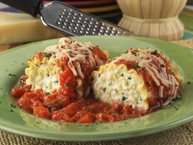 Lovely Lasagna Rollups