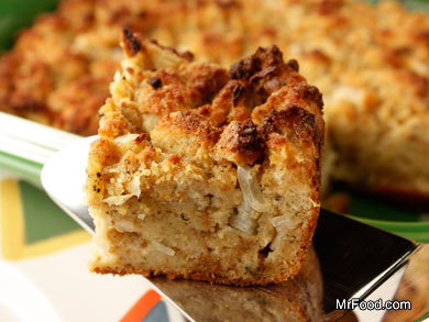 Sage Corn Bread Dressing | mrfood.com
