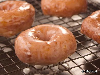 Homemade Glazed Doughnuts Recipe — Dishmaps