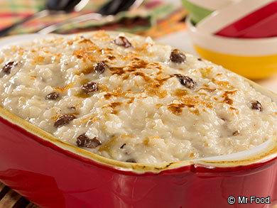 Baked Rice Pudding   mrfood.com