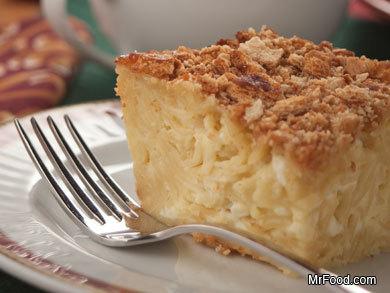 Best Ever Noodle Pudding | mrfood.com