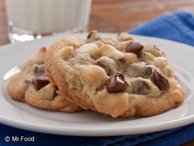 Triple Chocolate Chip Cookies Mrfood Com