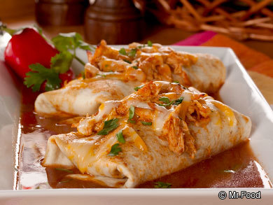 Slow Cooker Chicken Enchiladas | mrfood.com