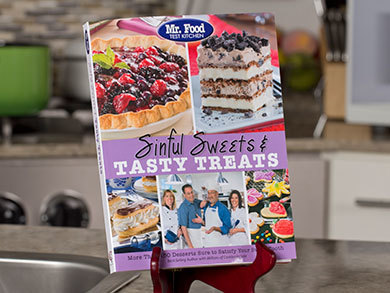 Mr food test kitchen sinful sweets tasty treats cookbook mr food test kitchen sinful sweets tasty treats cookbook forumfinder Gallery