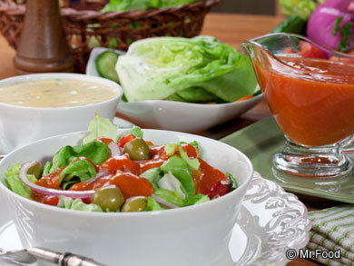Easy Homemade Salad Dressings | mrfood.com