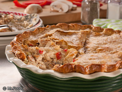 Summer Chicken Pot Pie