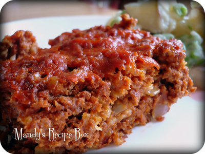 Just Like Paula Deen's Old-Fashioned Meatloaf