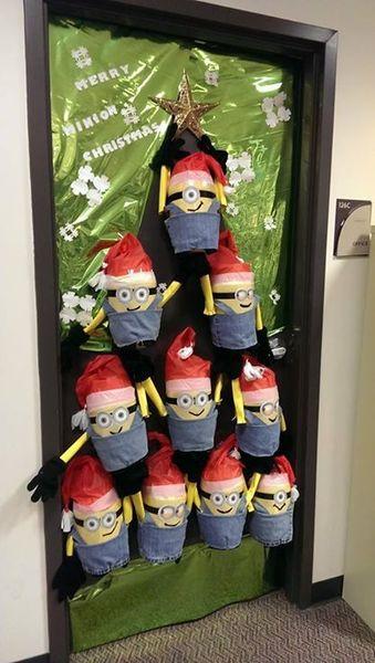 Merry Minion Christmas Door Favecrafts Com