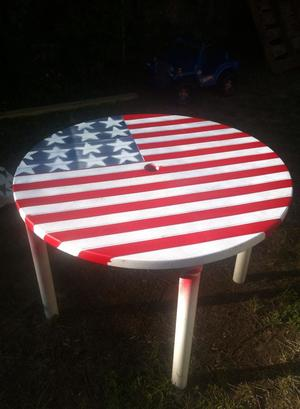American Pride Freedom Table