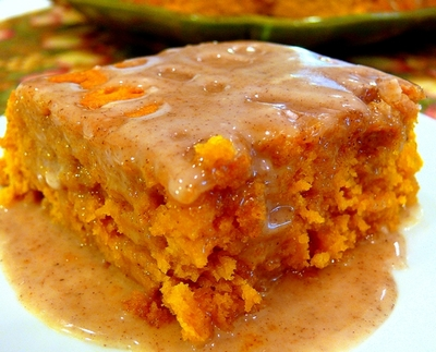 2-Ingredient Pumpkin Cake