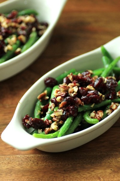 Not So Traditional Green Beans