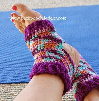 Yoga Crochet Socks