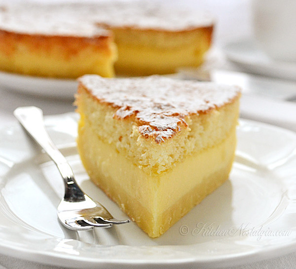 Easy  Layer Banana Magic Cake
