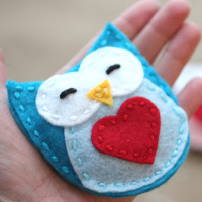 Crazy Cute Owl Hand Warmers