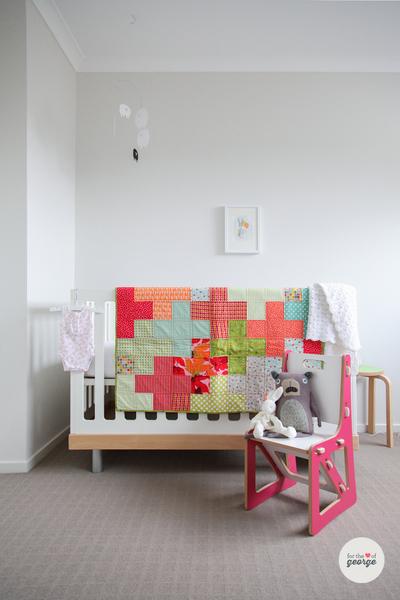Tetris Baby Quilt