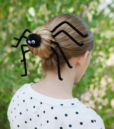 Spider Spun Bun