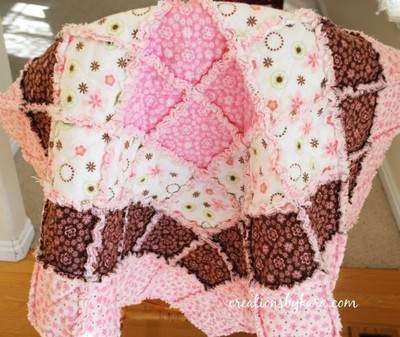 Borders Baby Rag Quilt