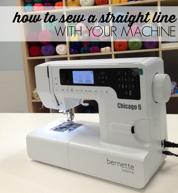 How to Sew a Straight Line  with Your Machine