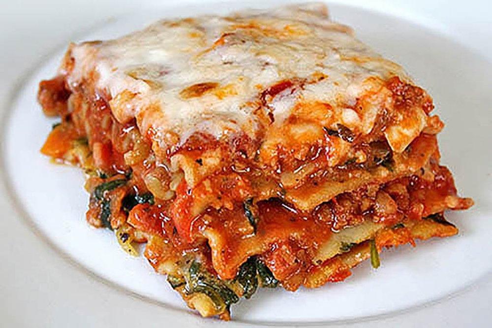 Slow Cooker Vegetable Lasagna | FaveHealthyRecipes.com