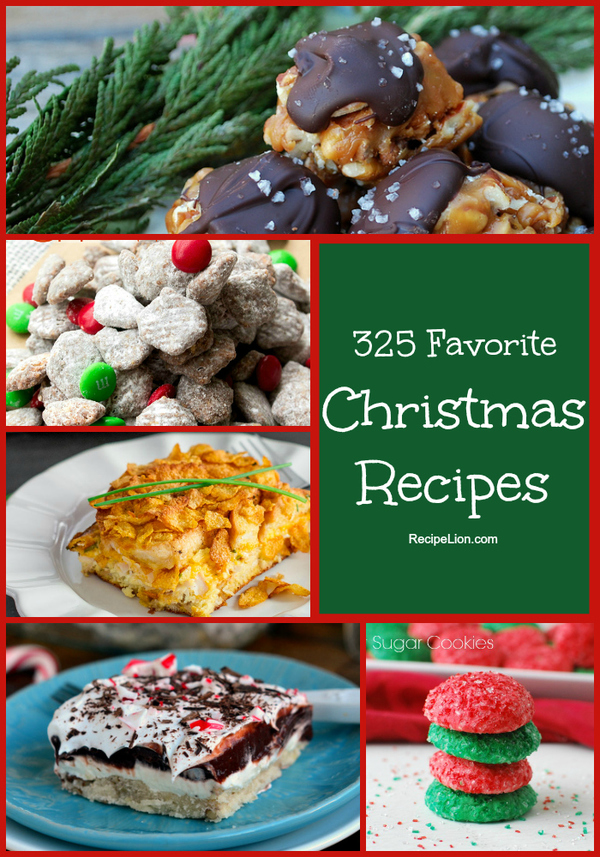 325 Favorite Christmas Recipes