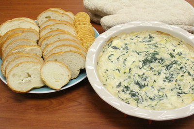 Applebees Hot Artichoke and Spinach Dip