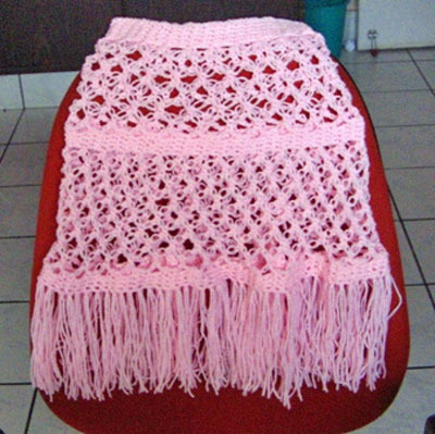 Little Girl's Poncho