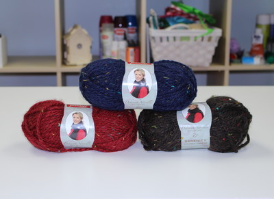 Deborah Norville Collection - Serenity Chunky Tweed Yarn