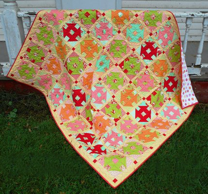 Churn Dash Quilt Block Pattern, an All-Time Favorite