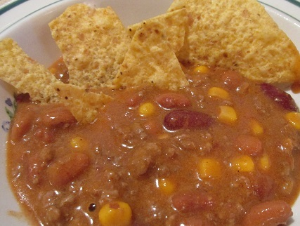 Four Can Taco Soup