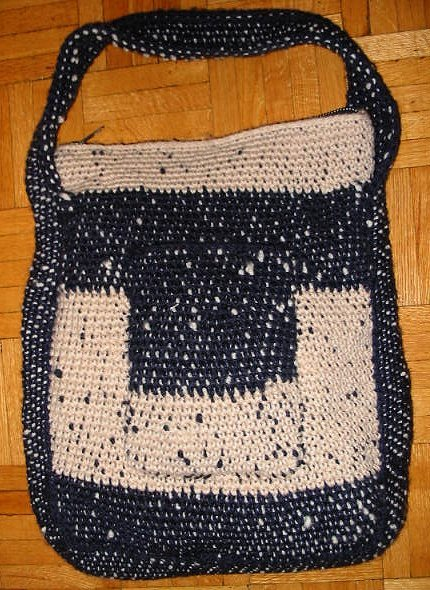 Tapestry Crochet Purse AllFreeCrochet.com