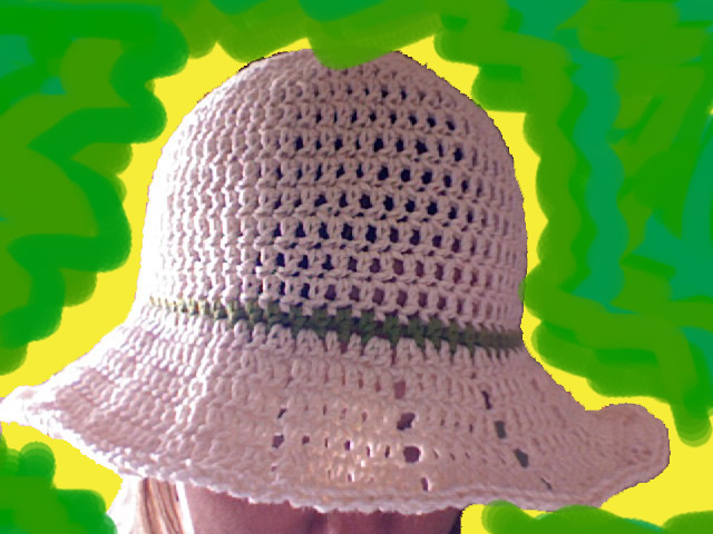 Fast & Easy Crocheted Summer Hat with Brim ...