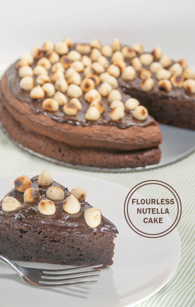 Flourless Nutella Cake | FaveGlutenFreeRecipes.com