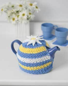 Teapot Cozy Daisy