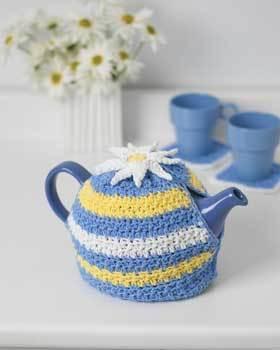 Teapot Cozy Daisy Pattern