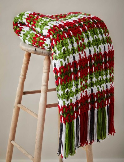 Crochet Patterns Modern : Contemporary Plaid Crochet Afghan Pattern ...